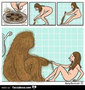 come pulire la doccia, immagine di facciabuco.com